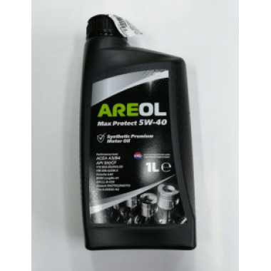 AREOL ECO Protect 5W-40 (1L) масло моторное! синт.