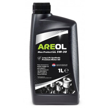 AREOL Max Protect LL 5W-30 (1L) масло моторное! синт