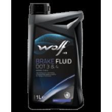 WOLF Brake Fluid DOT 3/4 0.5 л