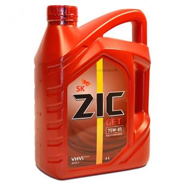 ZIC GFT 75W-85 (4L) масло трансмиссионное !синт.