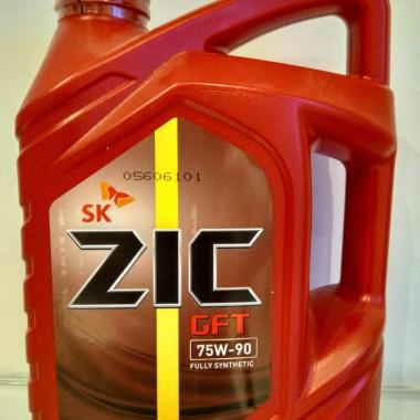 ZIC GFT 75W-90 (4L) масло трансмиссионное